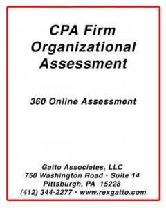 CPA Firm Organizational Assessment